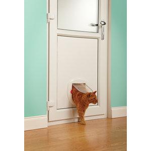 Staywell® Grote kat/kleine hond luik Wit