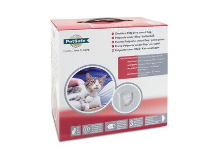 Petporte smart flap® kattenluik met scanner voor microchip van uw kat