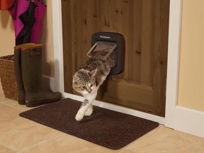 PetSafe® Microchip Kattenluik - Leest de unieke microchip ID van uw kat en houdt andere katten buiten