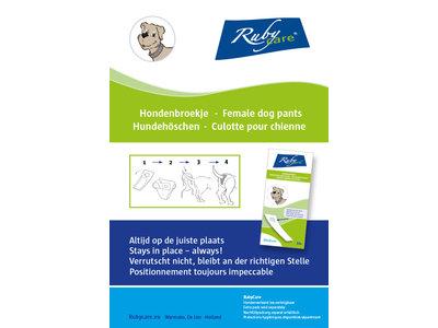 Ruby Care Hondenbroekje voor loopsheid
