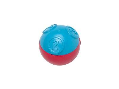 PetStages Challenge Ball - Uitdagende snack bal van 100% natuurlijk rubber met 3 verschillende moeilijkheidsgraden