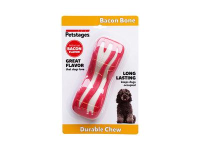 Petstages Bacon Dental Bone voor echte kauwers met heerlijke bacon smaak