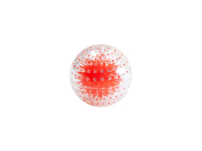 Petstages Nubbiez Squeaker Ball - met inwendige noppen en knisperend geluid