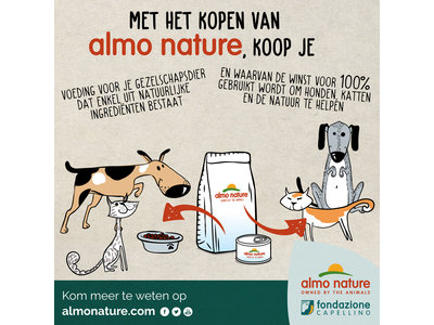 Almo Nature Hond Holistic Droogvoer Kleine Hondenrassen - Puppy - Kip - 400gr of 2kg