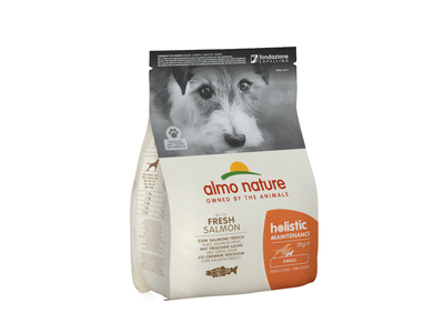 Almo Nature Hond Holistic Droogvoer voor Kleine Hondenrassen - Maintenance - Rundvlees, Kip, Zalm, Lam of Vette vis in 400gr of 2kg