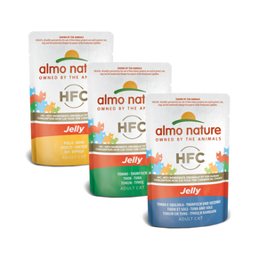 Almo Nature Kat HFC Natvoer - Jelly - Pouch 24 x 55g