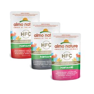 Almo Nature Kat HFC Natvoer - Natural - Pouch 24 x 55g