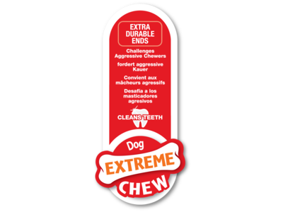 Nylabone Extreme kauwbot dijbeen met rundvleessmaak