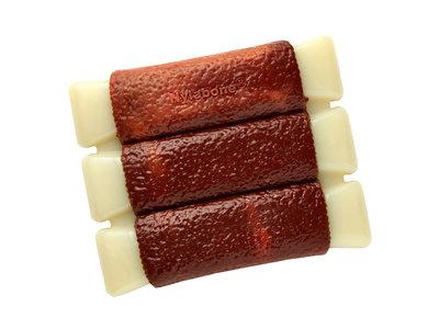 Nylabone Extreme Kauwbot BBQ met Chicken Wing, Sparerib of Karbonade smaak - Voor honden die graag en veel kauwen
