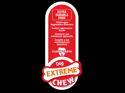 Extreme Triopack kauwbotten met smaken Pindakaas, Kip en Bacon - Nylabone - Small