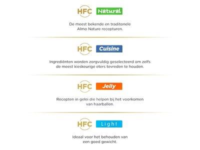 Almo Nature  Natvoer voor Katten - HFC Cuisine - 24 x 70g