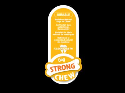 Nylabone Strong kauwbot met jus- en rundersmaak