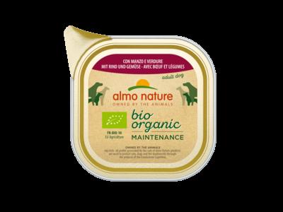 Almo Nature  Natvoer voor Honden - Bio Organic Maintenance - 32 x 100g