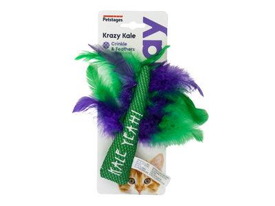Speelgoed met Catnip voor Katten - Krazy Kale - Gebitsverzorgend
