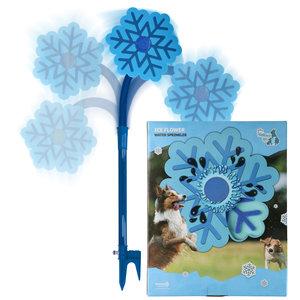 CoolPets Ice Flower Water Sprinkler - Verkoelende watersproeier voor honden