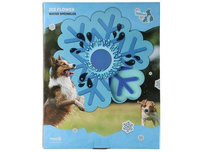 CoolPets Ice Flower Water Sprinkler - Verkoelende watersproeier voor honden - Spelenderwijs afkoelen - Eenvoudig aan te sluiten op de tuinslang