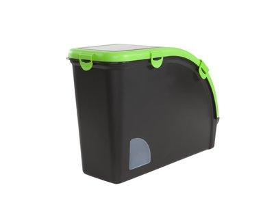 Multifunctionele Luxe voedselcontainer (13kg) met luchtdichte deksel ingebouwde voerschep - Maelson Dry Box Deluxe