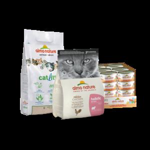 Almo Nature Compleet Pakket voor Katten
