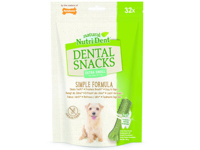 Nylabone Nutri Dent Dental Snacks - Gebitsverzorgende hondensnack om tandplak en tandsteen te verminderen - Verfrist de adem - Mini / Small / Medium / Large