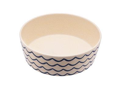 Bamboe voerbak/waterbak voor honden - duurzaam & trendy - Beco Printed Bowls in 5 Kleuren in 2 maten