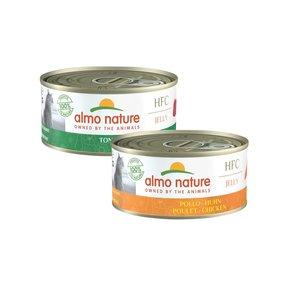 Almo Nature  Anti-Haarbal Natvoer voor Katten - HFC Jelly - 24 x 150g