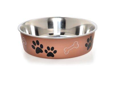 Honden Voerbak & Drinkbak - Vaatwasmachinebestendig, met Anti-Slip en Dierenarts aanbevolen antibacteriele RVS binnenzijde - Loving Pets Bella Bowl - 8 kleuren in Small to Extra-Large