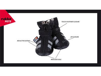 RukkaPets Step Shoes - stijlvolle beschermende hondenschoenen