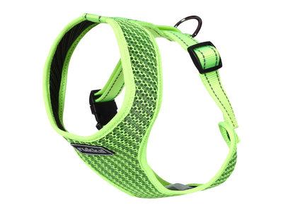 Rukka Pets Comfort Air Harness - Lichtgewicht en ademend hondentuigje - Ergonomisch design - Geel, roze en grijs - XS / S / M / L / XL