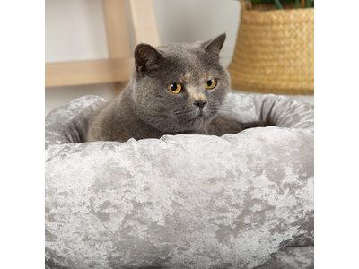 Stijlvolle  katten- en hondenmand van fluweel - Scruffs Velvet