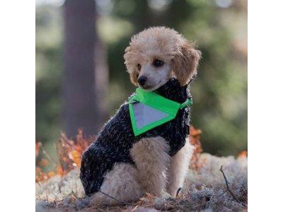 RukkaPets reflecterende veiligheidsbandana voor honden