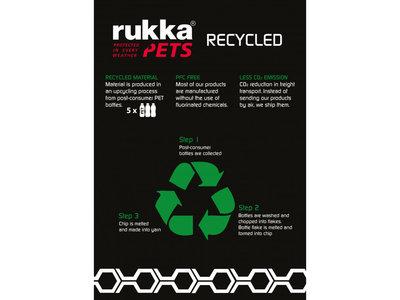 RukkaPets Twist Leash - Duurzame hondenriem van gerecycled materiaal