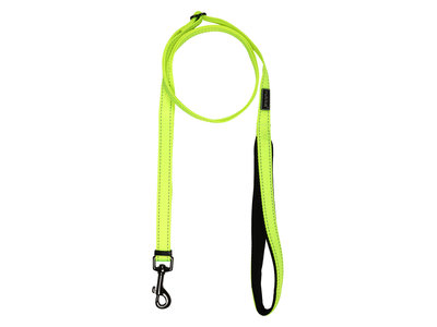 RukkaPets Neon Bliss Adjustable Leash - Verstelbare neon hondenriem - Small, medium, large