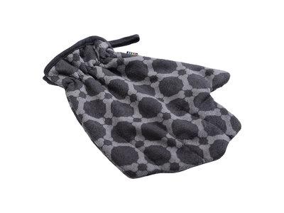 Rukkapets Absorberende drooghandschoen voor honden van microvezel in drie kleuren