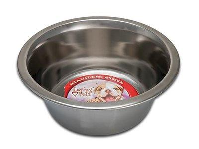 RVS voer- en drinkbak voor honden en katten - in 5 maten