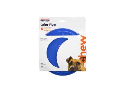 Veilige & Duurzame Hondenfrisbee - Orka Flyer Pet Specialty - Blauw