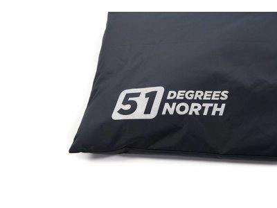 Benchkussen  - Van Waterafstotend & Afwasbaar All Season Materiaal - 51 Degrees North Storm in 4 Kleuren van S tot XXL
