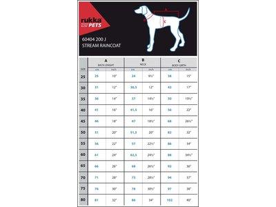 Trendy gele hondenregenjas - in 11 maten