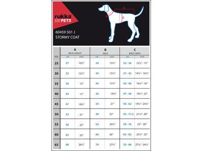 Rukka Pets Stormy Coat - Winterjas voor honden -  9 maten - Camouflage, olijf