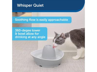Stijlvolle keramische drinkfontein voor katten en kleine honden