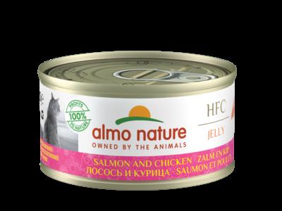 Almo Nature  Natvoer voor Katten - HFC Jelly - 24 x 70g