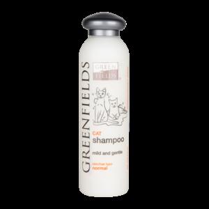 Milde en verzorgende Kattenshampoo - Greenfields 200 ml