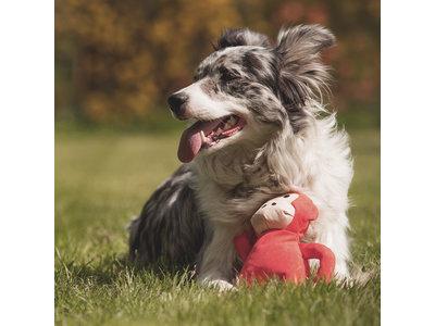 Hondenspeelgoed Duurzaam en 100% Gerecycled - Beco Pets Pluche Knuffel Aap - S/M/L