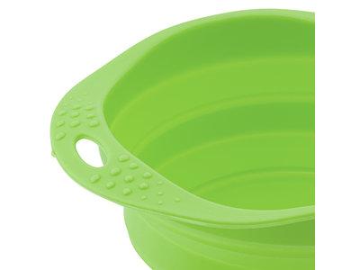 Beco Opvouwbare Hondenbak, handig voor onderweg! - Vaatwasserbestendig in Blauw, Roze of Groen