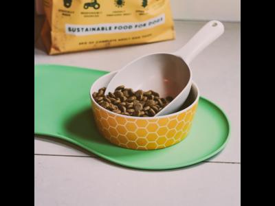 Placemat voor Voer- en Waterbak van Silicone - Beco Pets - Duurzaam en gemakkelijk schoon te maken