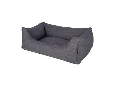 Comfortabele Hondenmand Charcoal Grey met afneembare & wasbare hoes - Rebel Petz hondenbed - in S/M/L/XL