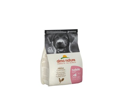 Almo Nature Hond Holistic Droogvoer Middelgrote tot Grote Hondenrassen - Puppy - Kip - 400gr, 2kg of 12kg