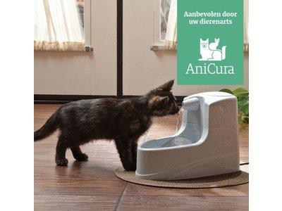 Drinkfontein voor Katten 1,2 Liter - Drinkwell - Met Koolstoffilter en beluchting voor langdurig vers water
