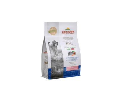 Almo Nature - Hond HFC Puppy brokken voor kleine honden - zeebaars en zeebrasem of kip - 1,2kg, 300gr