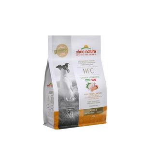 Almo Nature Almo Nature - Hond HFC Adult brokken voor kleine honden - kip, zalm of varkensvlees - 1,2kg, 300gr
