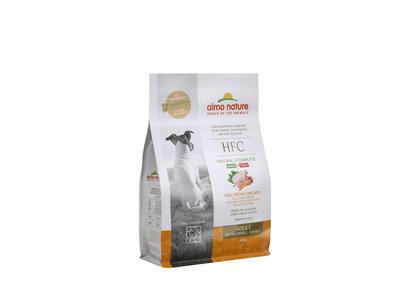 Almo Nature - Hond HFC Adult brokken voor kleine honden - kip, zalm of varkensvlees - 1,2kg, 300gr